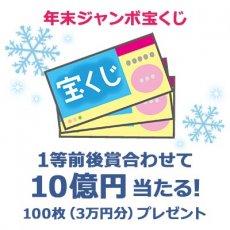 年末ジャンボ宝くじ 100枚(3万円分)